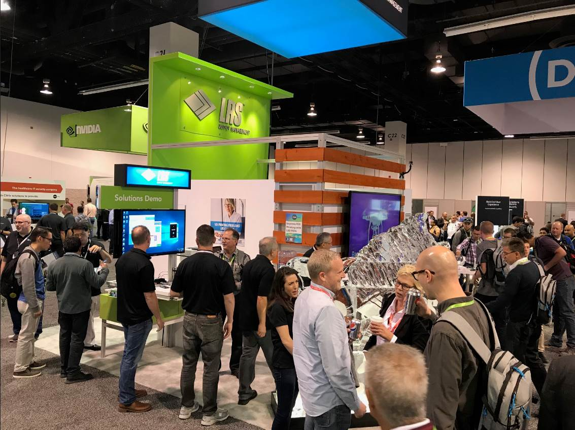 The LRS Stand at Citrix Synergy